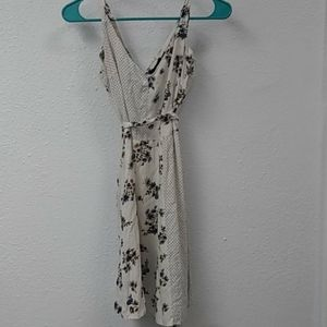 Bebop flower and polk dot dress